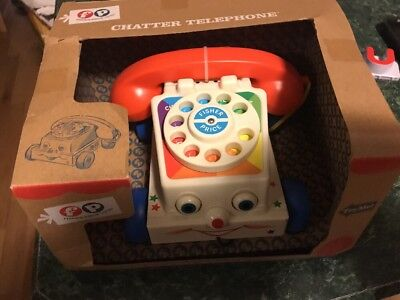 Fisher Price Classic Toys Chatter Telephone New Retro Vintage New