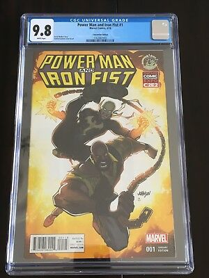 Power Man And Iron Fist #1 - Cgc 9.8 Convention Edition Variant C2E2 & Eccc
