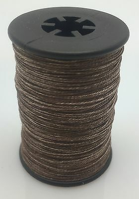 Tan BCY 3D Serving Thread.017 120 Yard Jig Spool Bow String End Serving