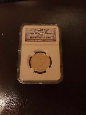 2016P Reagan Presidential MS67 ER From The Annual Dollar Coin Set