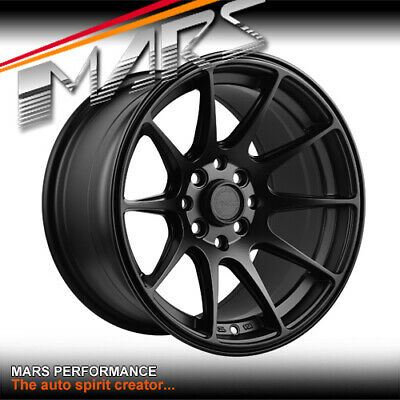 MARS MP-MS 15 inch 4 x 100 / 114.3 Wheels Swift Jazz E30 Civic EG EF Yaris MX-5