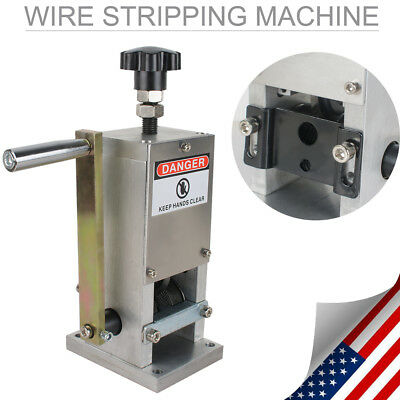 HARDIN MANUAL wire and cable stripper scrap copper recycle machine ...
