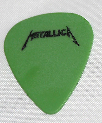 Metallica~James Hetfield Guitar Pick~Rare~1988 Justice Tour~Free Ship Worldwide