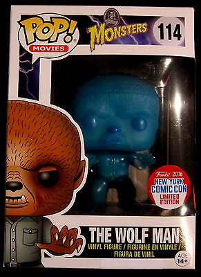 THE WOLF MAN Limited NYCC / GITD - Funko Pop - Universal Monsters (WOLFMAN)