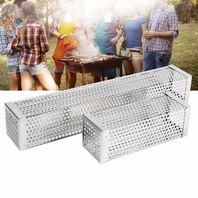 BBQ Pellet Smoker Tube Smoke Generator Stainless Steel for Hot cold smoking New