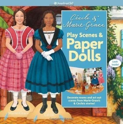 American Girl Cecile & Marie-Grace Play Scenes & Paper Dolls Book