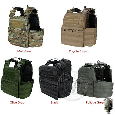 TMC CPC Style Plate Carrier Tactical Vest Wargame Body Armor Army Molle Hunting
