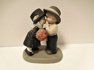 Enesco Life's Best Gifts are Love and Laughter Kim Anderson Figurine 2000