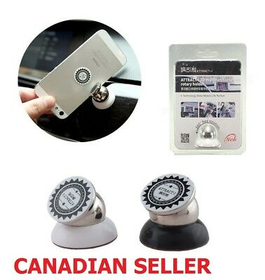 360 Degree Magnetic Car Dashboard Mobile Phone Mount Holder Smartphone Stand