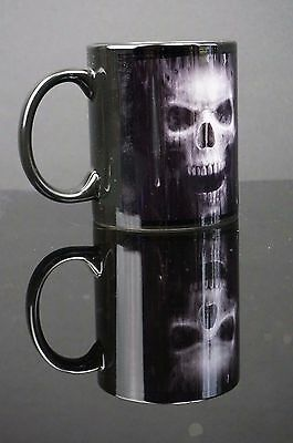 Anne Stokes Coffee Mug Cup bone China Gothic fantasy Skull Head watcher