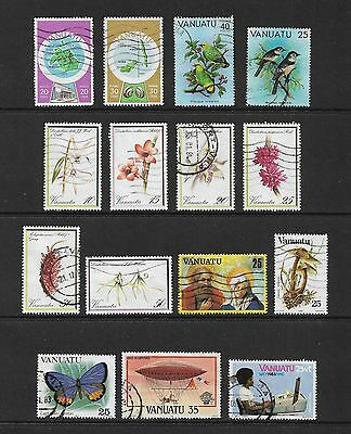 VANUATU - mixed collection No.4, used