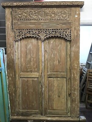 Balinese I Antique Door And Frame