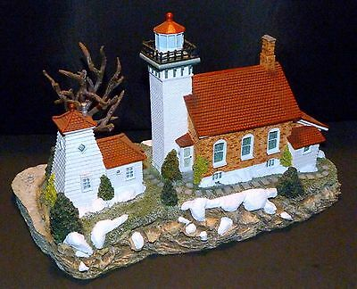 2001 Harbour Lights Lighthouse #265 ~Sherwood Point~ Wisconsin ~ Winners Choice
