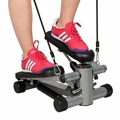 Aerobic Stepper Rope Pedal Fitness Exercise Cardio Workout Machine Mini Steppers