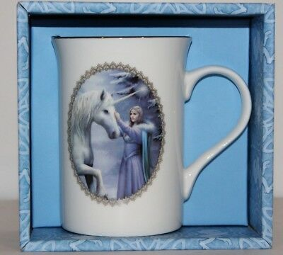 Anne Stokes Coffee Mug Cup bone China Gothic fantasy Pure Magic Unicorn