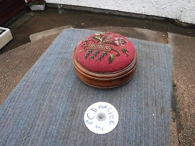 Stunning  Vintage  Victorian  Beaded  Foot  Stool. Price & Wilding,  Nantwitch.