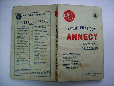 Guide Pol – Annecy -1934