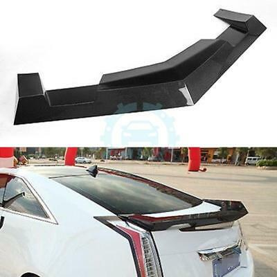 CARBON FIBER AUTO Rear Trunk Spoiler Boot Wing Blade Kit For