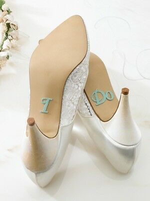 Stickers I do - Martha's Cottage - matrimonio sposa scarpe wedding shoes bride