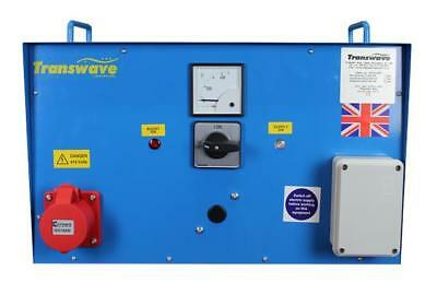 TRANSWAVE Rotary Converter MT1.1 - 1.5hp/1.1kW - Single to 3-phase 240v to 415v