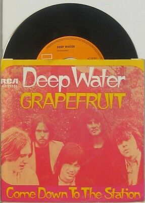 "Grapefruit  deep water / come down to the station , 7"" 45"