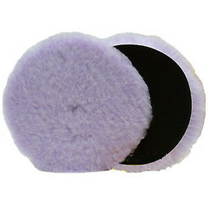 "Lake Country Purple Foamed Wool Pad - 5.5"" - Polishing Pad"