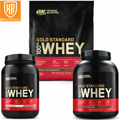 Optimum Nutrition ON Gold Standard whey protein 908g 2.27kg FAST P&P