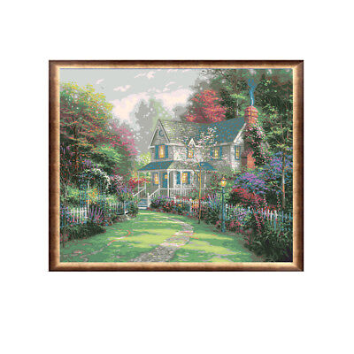 NEW 40x50cm Victorian Garden II Paint By Number Kit Painting DIY Decor un/Framed