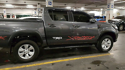 Complete Set Sticker Trd For Toyota Hilux Revo Double Cab Sr5 M70 M80 2015-On