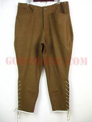 WWI 1st Australian Imperial Force Brown Wool Breeches Size M