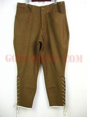 WWI 1st Australian Imperial Force Brown Wool Breeches Size L