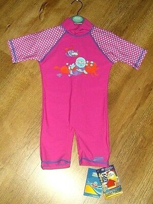 Zoggs Age 1-2 years ultraviolet protection swim suit upf 50+ Brand New with Tag