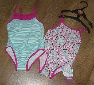 Ex- Chainstore 12-18 months 2 pack girls swimming costume Brand New with Tag