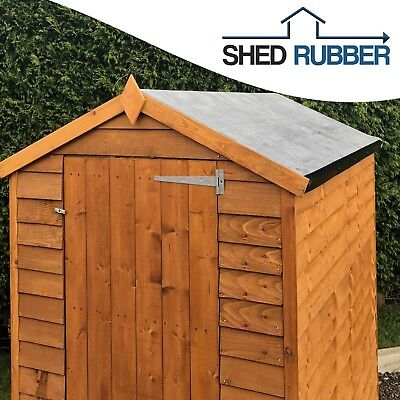 EPDM Rubber Roofing Kit For Shed Roofs Multiple Sizes Available 50YEAR LIFE EXP