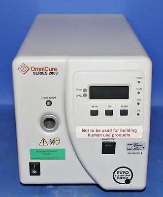 (1) Used OmniCure Series 2000 UV Curing System