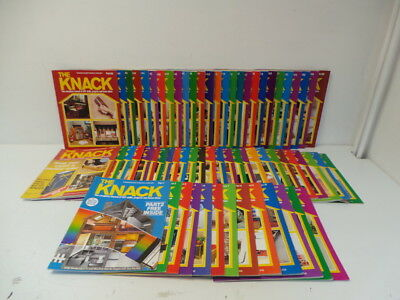 The Knack DIY Magazines - Collection of 66 Issues