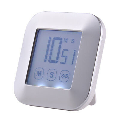Digital LCD Touch Screen Kitchen Practical Alarm Cooking Timer Countdown HS1003