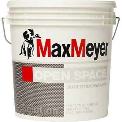 "Pittura Murale Interno Traspirante 5 Lt Bianco Opaco MAX MEYER ""OPEN SPACE"""