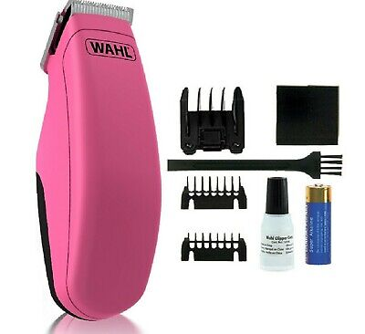 WAHL POCKET PRO PINK - Animal Trimmer Pet Shaver bp PawMits Mini Dog Clippers