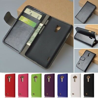 Flip Wallet PU Leather Phone Case Cover With Card Slot For LG G5 G4 K8 K10 2017
