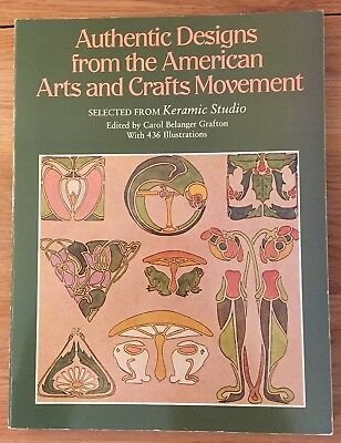 Clip Art Authentic Designs from American Arts & Crafts Movement PB 436 Ill.