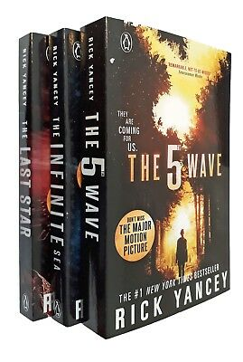 5th Wave Trilogy Rick Yancey 3 Book Fifth Last Star Infinite Sea Kids SF New