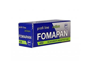 Foma Fomapan 400 Action Black & White Negative Film (120 Roll Film) FRESH
