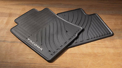 Genuine Toyota All Weather Floor Mats for 2008-2011 Tacoma Access Cab-New, OEM