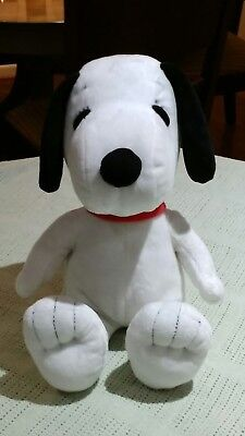 """Peanuts 13"""" Snoopy Plush Dog Excellent Condition Pre-owned"""