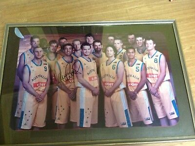 Melbourne Tigers Basketball Team Photo
