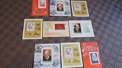 3 x Russian Stamps Vladimir Lenin - 3 lots available bidder's choice MNH 70-80's