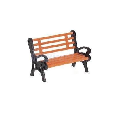 New 4 x Model Station Street Park Bench 1:25 G SCALE