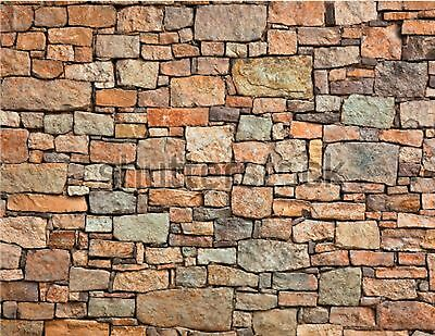 New 205X280Mm Ho/tt Scale Self Adhesive Large Stone Wall Paper Sheets