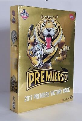 Great Gift Idea! Afl Richmond Tigers Premiers 2017 Victory Pack Dvd Boxset Bnip